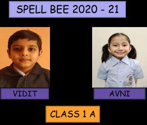 Spell Bee – Class I