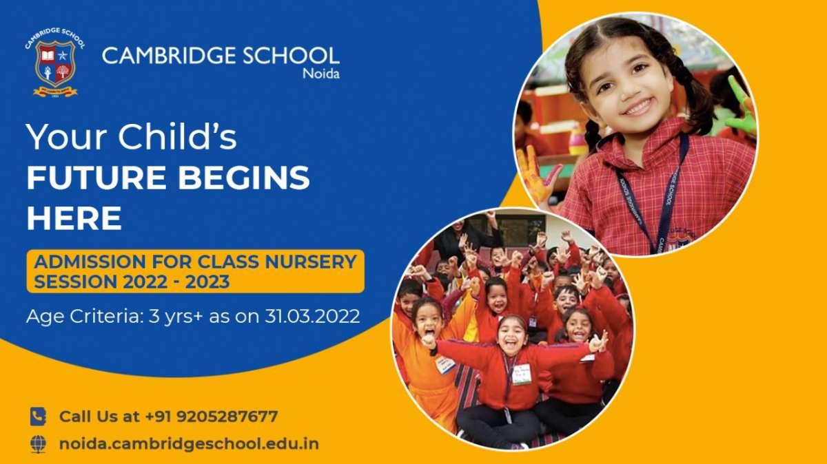 Nursery Admission 2022