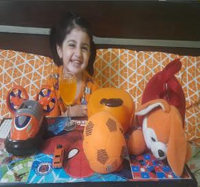 Orange Colour Day - Nursery