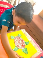 Fun with Textures- Class Nursery