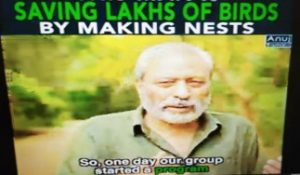 Session on Conservation of Nature and Bird Nest Making